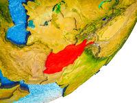 Afghanistan on 3D Earth