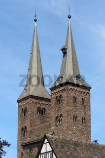 Höxter - St. Kilianikirche, Deutschland