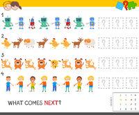 educational pattern game for children