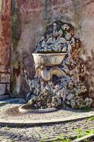 Fountain at Orange Garden in Rome