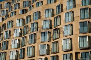 Modern building facade - real estate exterior