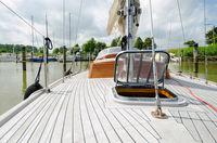 Sailing boat.
