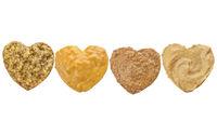 variety of mustard in heart chape