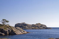Rocky coast in the Rogaland