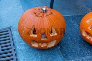 Carved Pumpkins Halloween