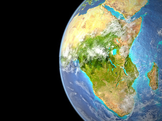 Africa from space