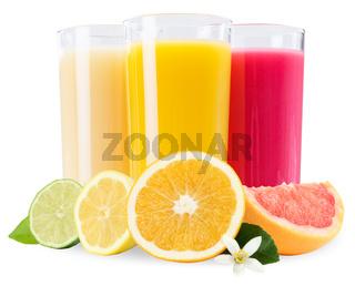 Saft im Glas Fruchtsaft Früchte Frucht isoliert freigestellt Freisteller