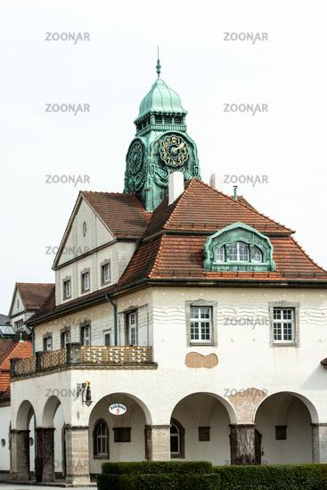 Art Nouveau spa Sprudelhof, Bad Nauheim