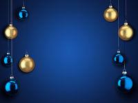 3D Rendering Christmas Card