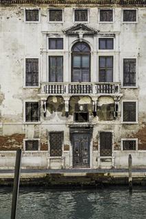 Murano island in the Venetian lagoon