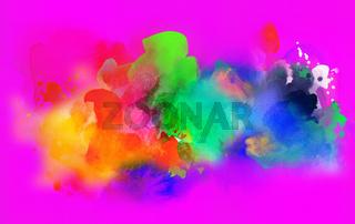 aquarell farben textur verlauf bunt pink