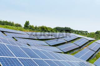 hillside solar energy