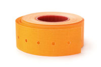 Orange sticky labels rol
