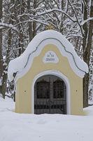 Winter am Kalvarienberg in Bad Tölz