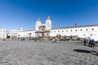 San Francisco square and church Quito