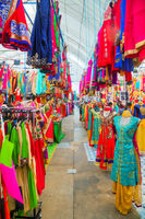 Little India quarter market in Singapore