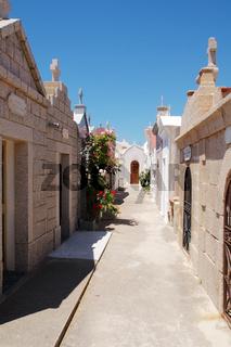 Friedhof von Bonifacio - Korsika