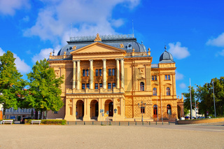Schwerin Theater - Schwerin the theatre, a famous building in Germany