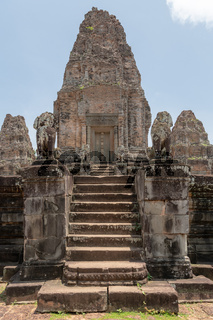 Central stone tower of East Mebon temple