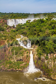 Waterfalls on the border