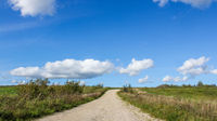 Asphalt Russian road. Travel by road. Road views