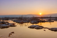 Dead Sea Israel sunrise morning water landscape nature