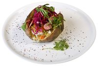 Stuffed Baked Potato Cutout