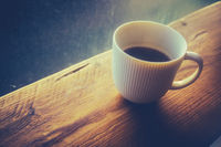 Retro Style Black Coffee