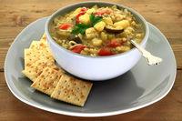 Vegetable gourmet soup