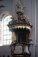 Pulpit Saint Ignaz Church Mainz