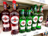 Bottled alcoholic beverages martini ready for sale
