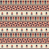 Palestinian embroidery pattern 26