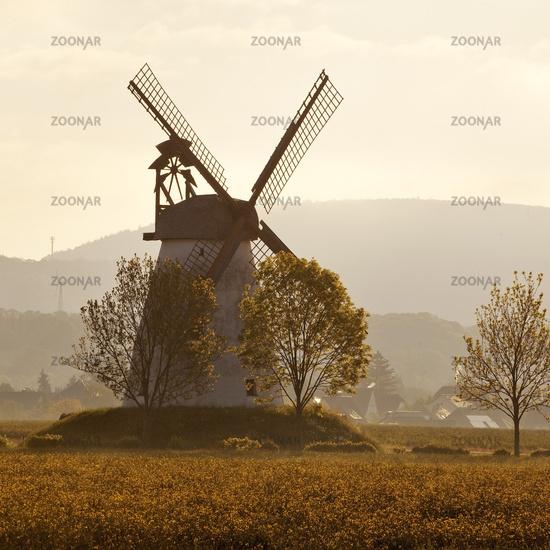 wind mill Veltheim, Porta Westfalica, East Westphalia, North Rhine-Westphalia, Germany, Europe