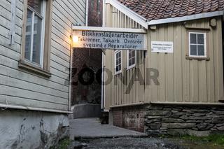 Altstadt Bakklandet in Trondheim