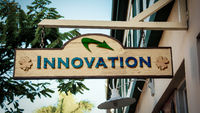 Street Sign to Innovation