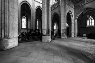 Interior of St. Barbara's Church.