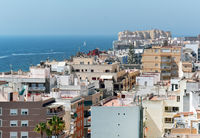 Panorama of Torrevieja city. Costa Blanca. Spain