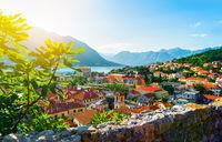 View of Boka Kotor bay
