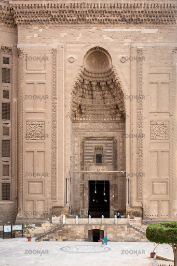 The two mosques Al-Rifa'i and Sultan Hassan in Cairo Egypt