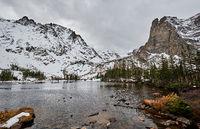 Lake Helene, Rocky Mountains, Colorado, USA.