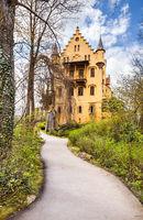 World-famous Hohenschwangau Castle, Fussen, Bavaria, Germany