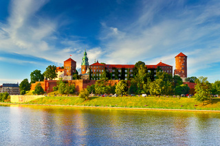 Wawel in summer,Krakow,Poland.