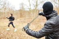 Joggerin flüchtet vor Angreifer bei Überfall