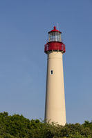 Atlantic Ocean Coastal Beacon Cape May Lighthouse in New Jersey USA