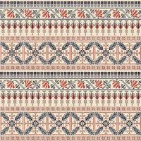 Palestinian embroidery pattern  106
