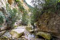 canyon of Avagas in Cyprus