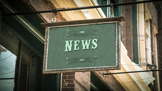 Street Sign to News