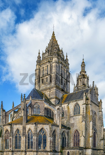 st. Peter church in Coutances, France