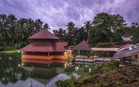 Ananthapadmanabh Kumbla or Anantha Lake Temple in Kerala, India