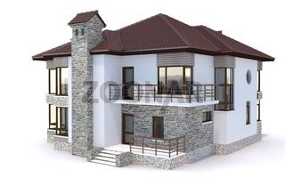 Contemporary modern house